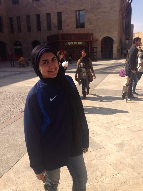 "CMA student Suhayla Al Sheikh: ""I love the adrenaline rush that the AUC football team gives me."" #JRLWeb #JRMC202 http://t.co/JSSDtMVir8"