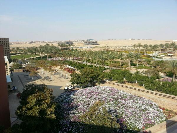 Roofs provide a beautiful view of the gardens from above. #JRMC202 #JRLWeb http://t.co/A3IKaqxoIb