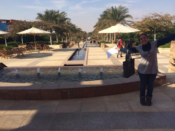 Q10) part 1, @FarahTawfeek at her favorite spot on campus. #JRMC202 #JRLWeb http://t.co/wRmrZewTYe