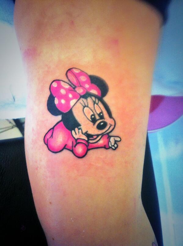 The Name Micky Tattoo Design