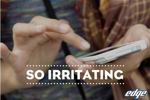 Phone died in the middle of the best text you've ever written? That's #SoIrritating. http://t.co/mOblyV7Ssh