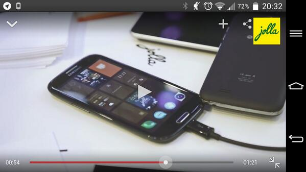 Hold on, hold on. Is that #SailfishOS  on a Samsung Galaxy S3? @JollaHQ  http://t.co/2Kq5Ii3yPx