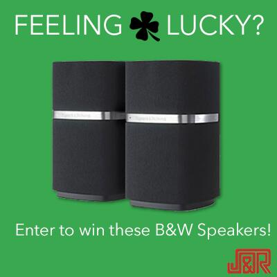 Feeling lucky? We're giving away @BowersWilkins MM-1 Speakers on St. Pat's Day. Enter to win: http://t.co/FOMZMEQ1W5 http://t.co/0Z7ps1PFve