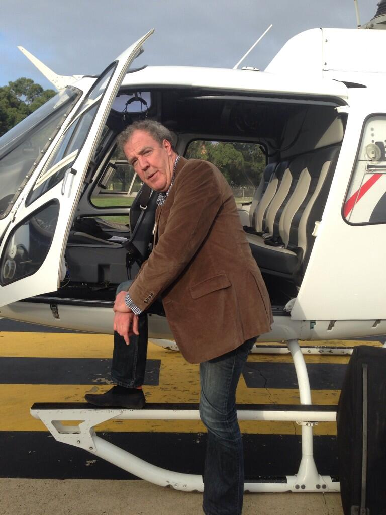 To the victor the spoils. Taxi for @MrJamesMay http://t.co/GjVNZdHW9t