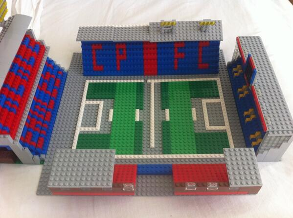 An awesome Lego replica of Crystal Palaces Selhurst Park [Picture]