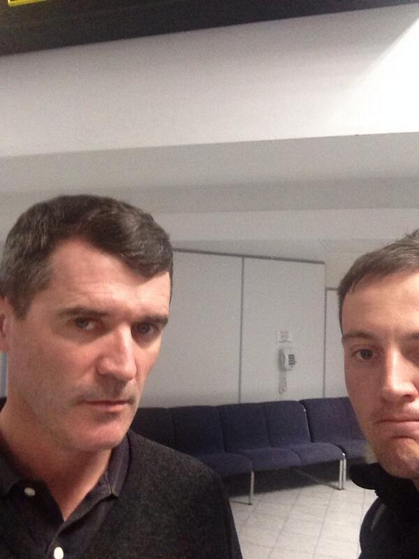 """Can I take a photo please, Roy?"" *SILENCE... http://t.co/qKpONReO8F"