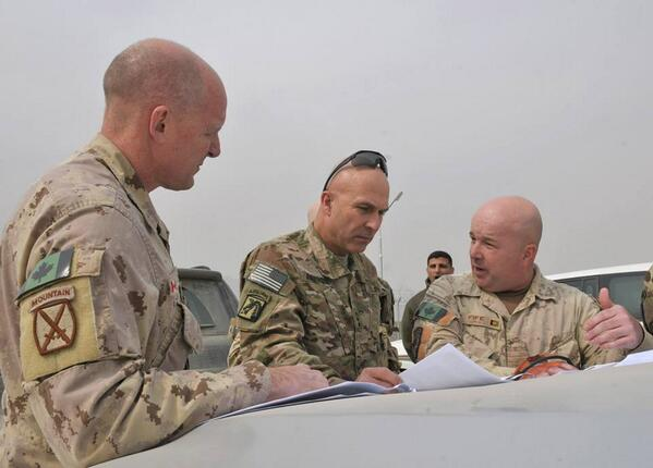 MGen Milner, LTG Anderson & BGen Eyre visit Consolidated Fielding Center, Kabul, Afghanistan #ISAF #IJC #natoSMc #ANA http://t.co/pSuOWUXP3j