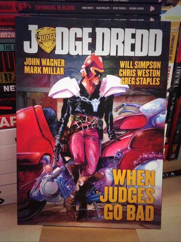 It's our birthday & we're giving away graphic novels all day! RT to win When Judges Go Bad! #2000AD http://t.co/YSJW4v355G