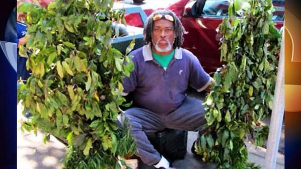 """""""The Bushman"""" who hid behind branches and scared tourists at #FishermansWharf has died http://t.co/5ZewaKIm02 http://t.co/xyJIJCO8yH"""