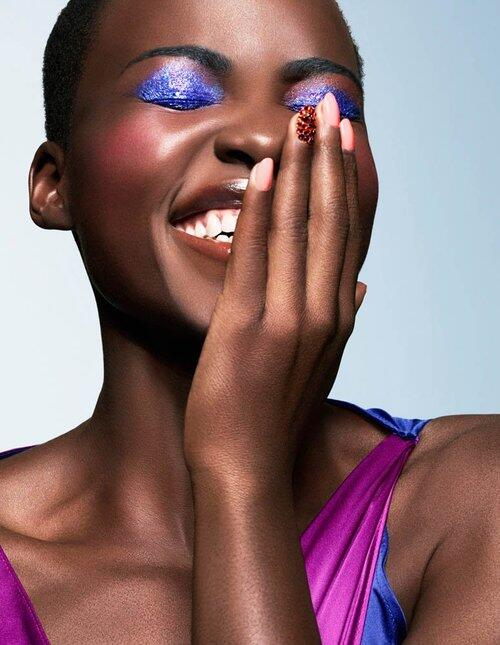 Lupita Nyong'o Shines for Essence Magazine March 2014 http://t.co/B5syK6JIAc