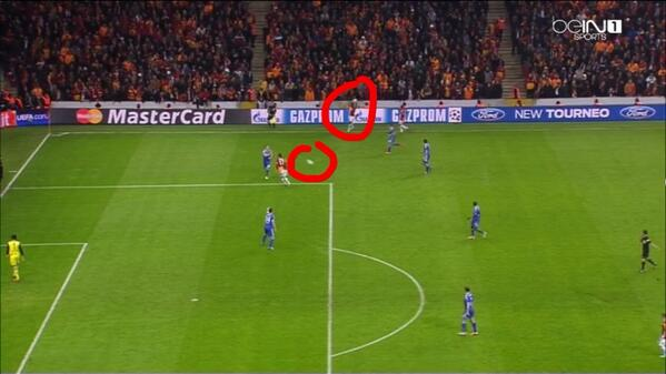 John Terry trends on Twitter after playing huge part in Galatasaray disallowed goal v Chelsea