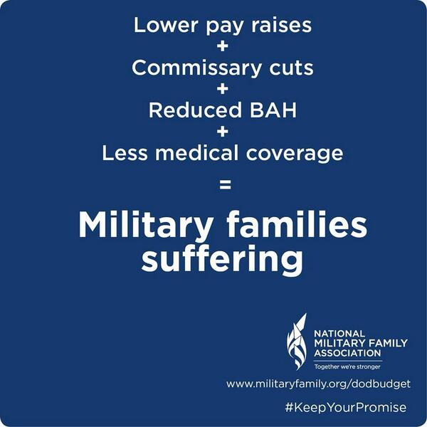 Congress: Don't balance the budget on the backs of military & their families!  @military_family #KeepYourPromise http://t.co/YdYfwFxq7r