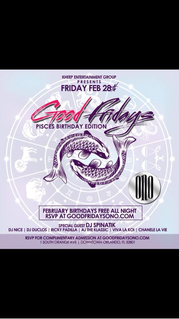 This Friday it's going down at the hottest party on a Friday is @ONONightclub come witness greatness http://t.co/zCSsOcK9um