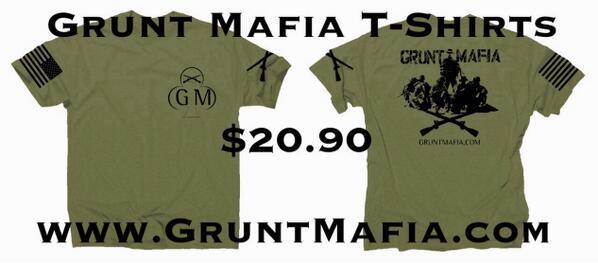 grunt mafia on twitter be a grunt wear the right gear http