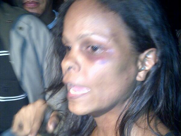 Marvinia Jiménez anunció que procederá judicialmente en contra de funcionarios que la agredieron http://t.co/hPzmrS9liM