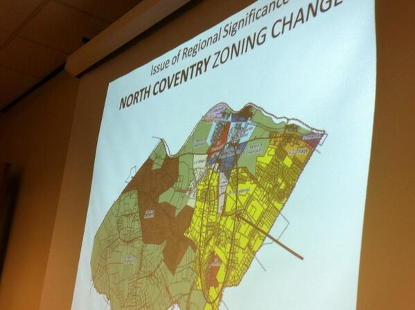 In April, N. Coventry will hold hearing on zoning overlay district along Route 100/master plan for the corridor. http://t.co/MmIIW5gAL2