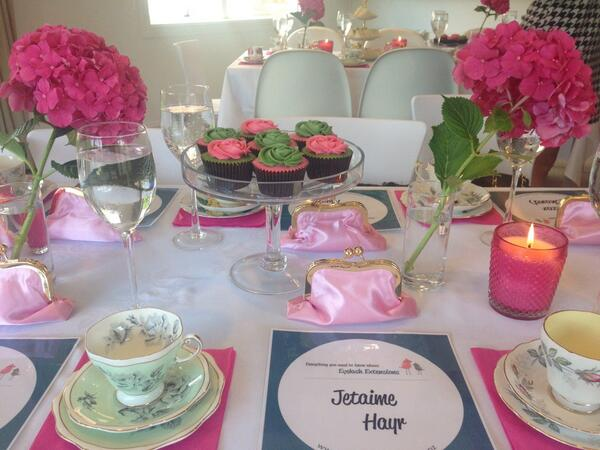 """@MsBeautyEditor: A gorgeous afternoon tea party for http://t.co/G6j1YoAxV0. http://t.co/HInOcmm0dI"" Thanks @FLAUNT_PR x"