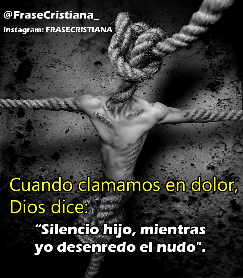 Frase Cristiana בטוויטר Cuando Clamamos En Dolor Dios