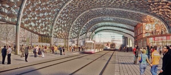 Birmingham HS2 Curzon Masterplan: New station will be the biggest building in city centre http://t.co/EAbR2MKjo9 http://t.co/zWQFmRRiHx