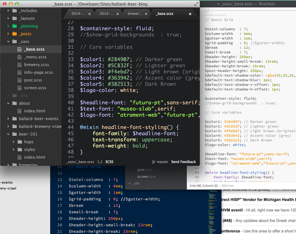 So @brackets, @sublimehq and @AtomEditor walk into a bar…… http://t.co/KR4Xb38d0T
