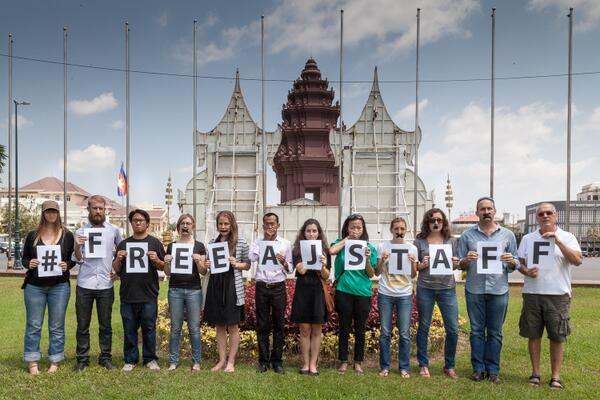 #Cambodia shows support for #FreeAJStaff on Global Day of Action for Free Press http://t.co/NiOciuEvef http://t.co/jID8A1wwl1