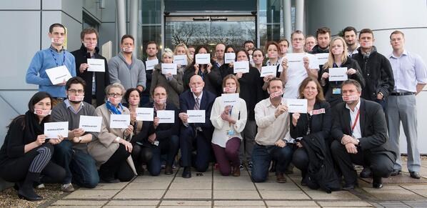 Sky News staff join the #FreeAJStaff protest http://t.co/lWpDeFA8El