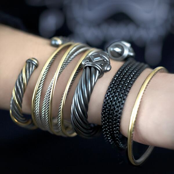 David Yurman On Twitter A Limited Edition Aluminum Bracelet Layers Effortlessly With Dy S Signature Mixed Metal Style Http T Co Hm96uerid2