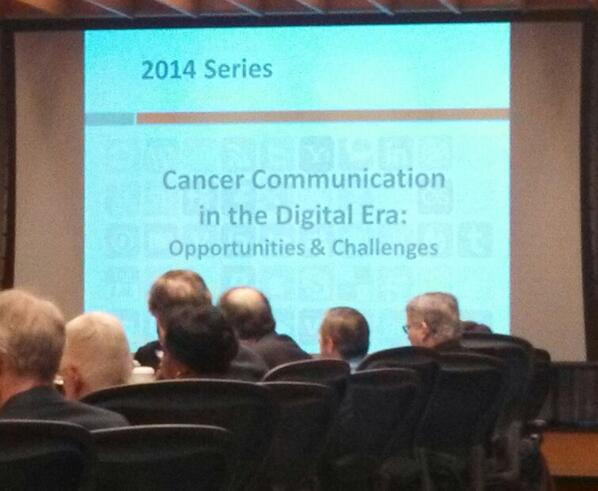 Thumbnail for President's Cancer Panel: Cancer Comm in Digital Age Convo 3/2/14
