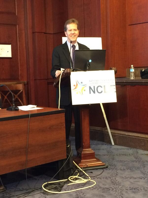 #ncle The briefing on the new NCLE report begins! Director Kent Williamson speaks. http://t.co/28qbAmIezz
