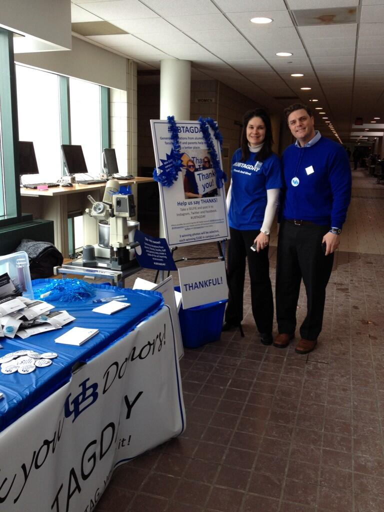 Twitter / UBCAS: #ubtagday with the college. ...