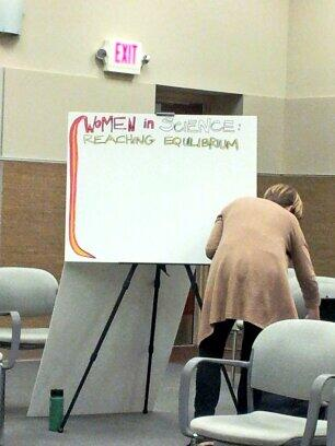 Live infographic artist sketching during #sciowomen discussion #scio14 http://t.co/TWOJLFn3OL