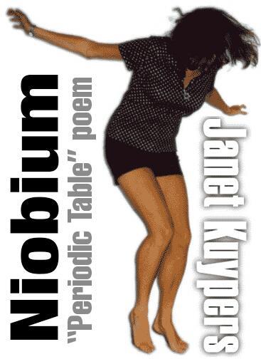 About Niobium >> Niobium Periodic Table Of Poetry Poem From Chicago Poet Janet