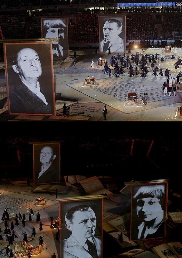 ソチオリンピックの閉会式から。 http://t.co/cRejEPOnLg
