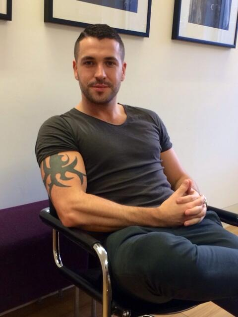 Here's a photo of the ever fine @shayneTward this afternoon. Interview will be up soon. http://t.co/DinELs1Rdg