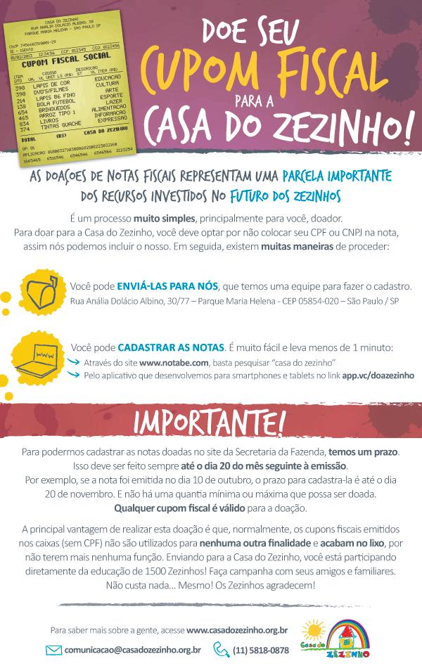 Doe seu cupom fiscal pra gente e ajude a mudar 1.500 vidas ! :) >> http://t.co/tAzgR2CGEt http://t.co/AfNaLzj3iS