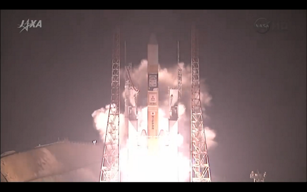 And launch of @NASA_Rains #GPM mission from Japan... pic.twitter.com/NUaFDsvQlV