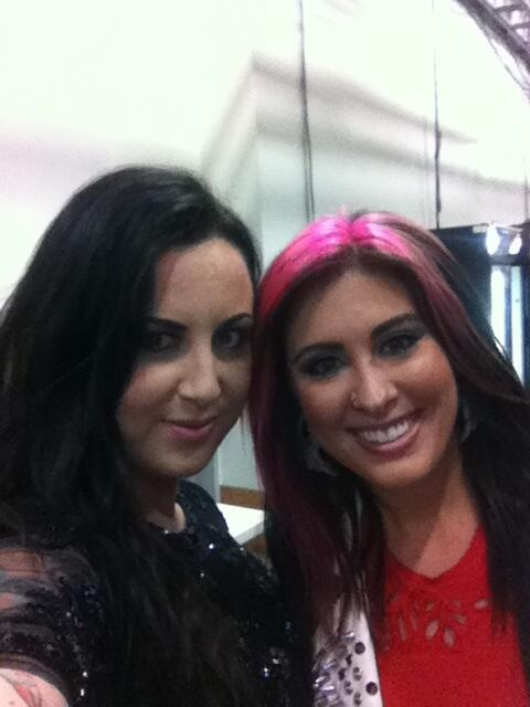 We found each other in the rain - @JessMeuse - Good luck tonight with the Hunger Games !!! http://t.co/rzwuFvpZrQ