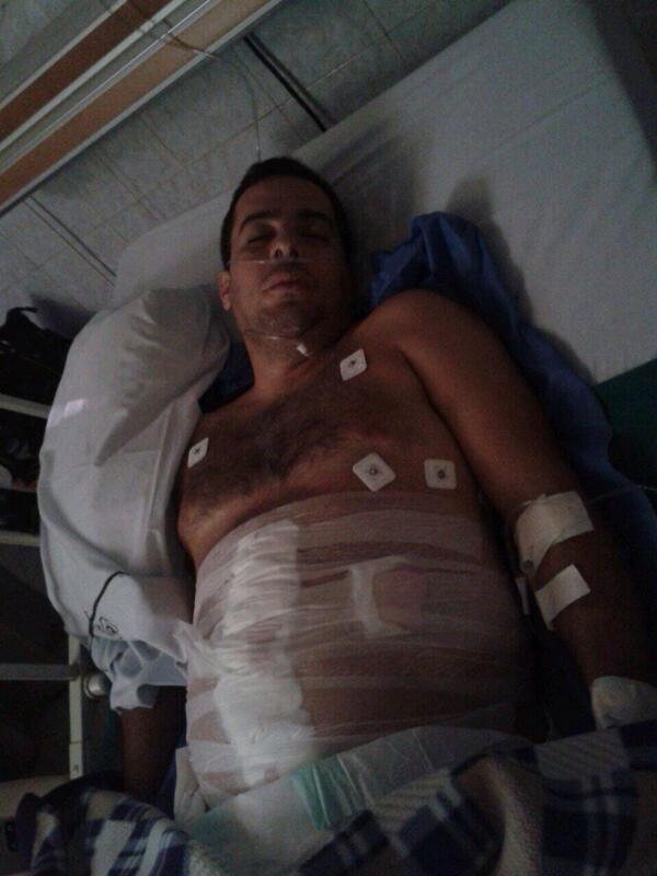 """""""@rossy_anthony5: Rafael Gallardo, Por disparo de la GNB http://t.co/v1y7OeMHBy"""" Requiere Donante (O+) Clinica Varyna #Barinas #SOSVenezuela"""