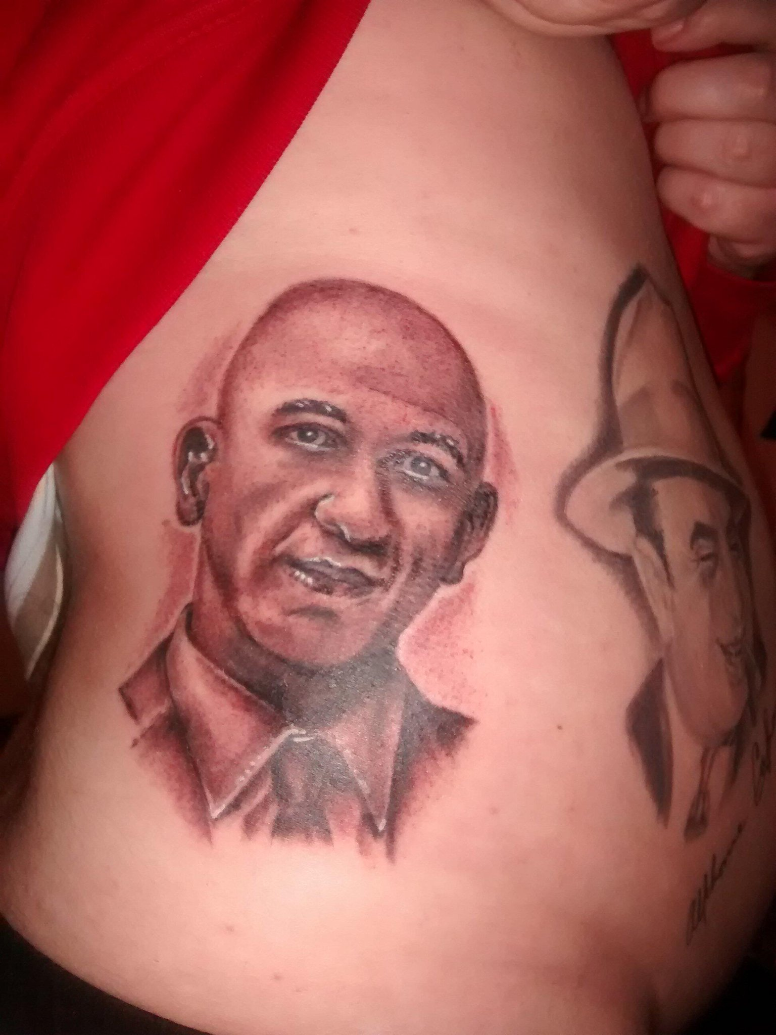 Anthonyrolandhall on twitter this is my new photo of for Anthony french tattoo