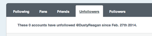 You can now track recent unfollowers & new followers on http://t.co/7PfEr6eyIc. http://t.co/cxTlWSVxaw