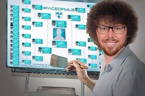 Actually, this #EricSogard as Bob Ross meme kinda rules, too. RT if you love happy trees! #FaceofMLB http://t.co/EeQPgZlkqH