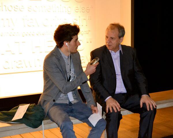 Photo of Hubert Damen  & his friend