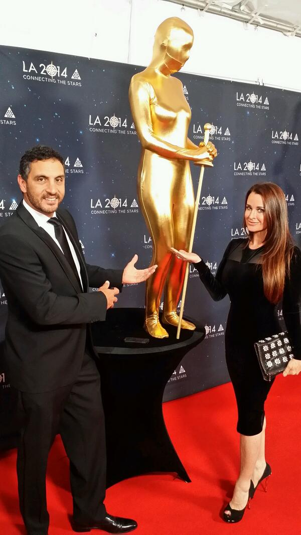 With @KyleRichards18 #Oscars @YPOGlobalEdge closing ceremonies.  Having fun http://t.co/fM6yfm3lcw