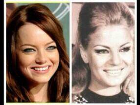 Is Emma Stone aware of the resemblance between her and Egypt's beautiful Nadia Lotfy? http://t.co/GK0VmeMTt3