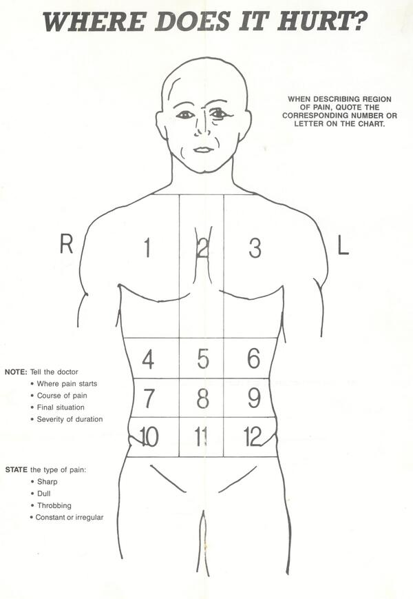 Royal Flying Doctor On Twitter The Body Chart A Simple And Useful