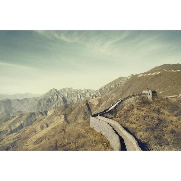 Great spot to really see the Great Wall.  Beautiful photo from http://t.co/lp8Zd5KEQp   #china #beijing #great #wall http://t.co/SdS1SeNNAc