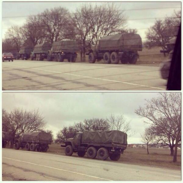 Военные ЧФ РФ нацелились на телекомпанию в Евпатории
