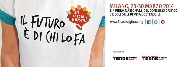 #mancaunmese #contoallarovescia @Falacosa_Giusta! #passaparola, ti aspettiamo 28-30 marzo Fieramilanocity http://t.co/KeJTz4NozL