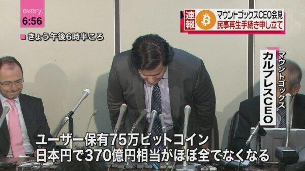 UPDATED: Mt.Gox Files For Bankruptcy Protection, Says 850,000 Bitcoin Lost