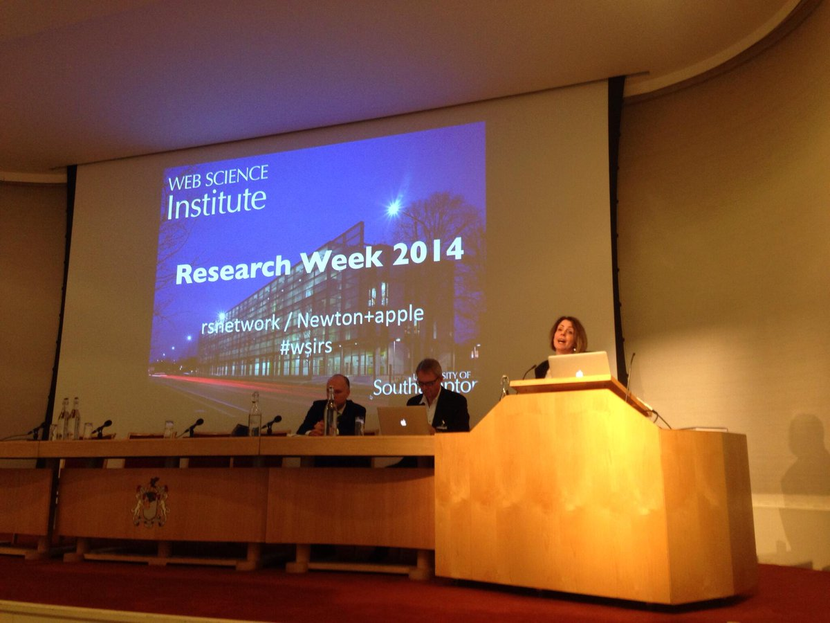 Kicking off the finale of #webscience research week at the Royal Society with @susanjhalford #wsirs http://t.co/WyVomXjeEh